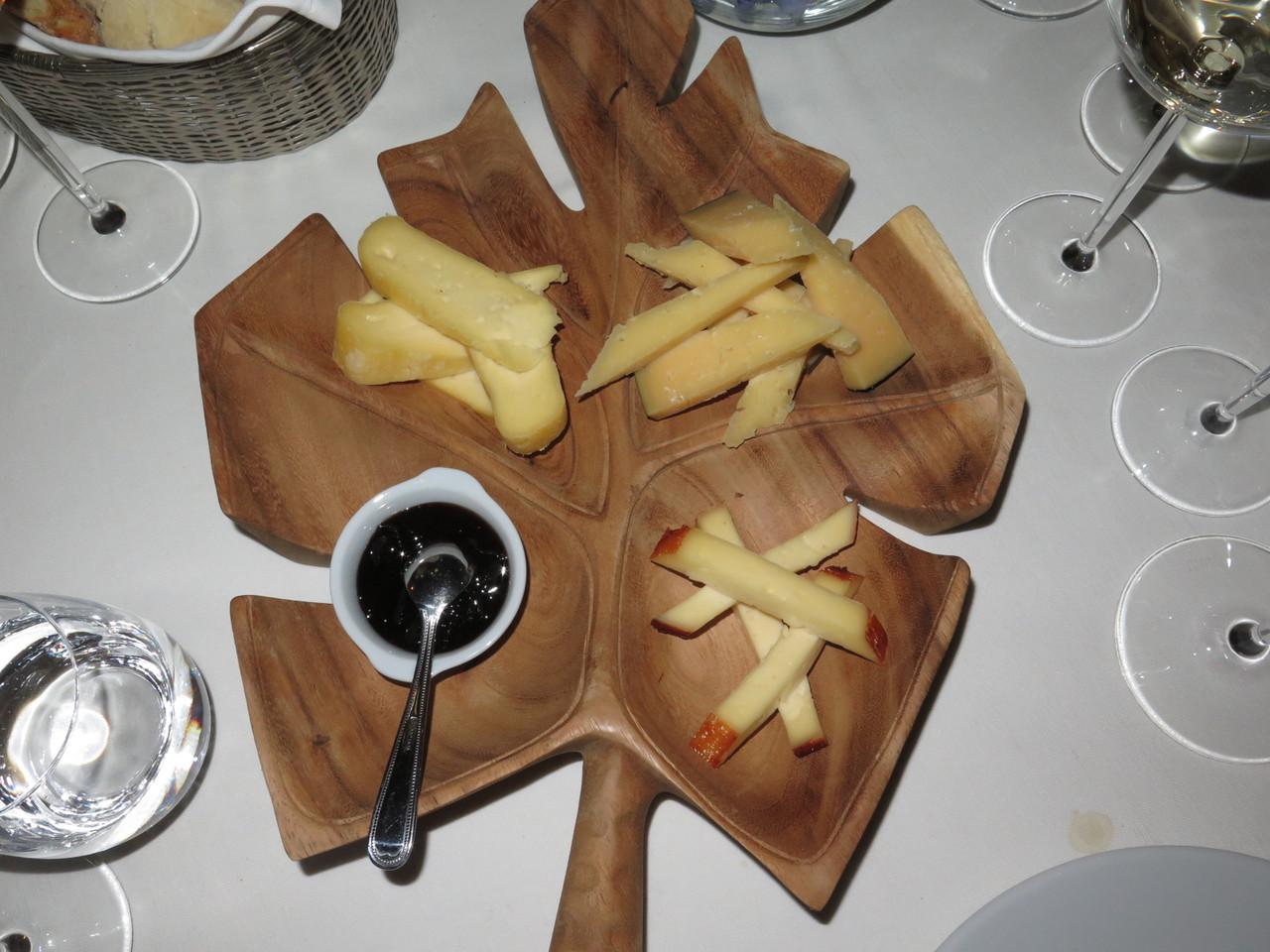 Prato de queijos dos Açores