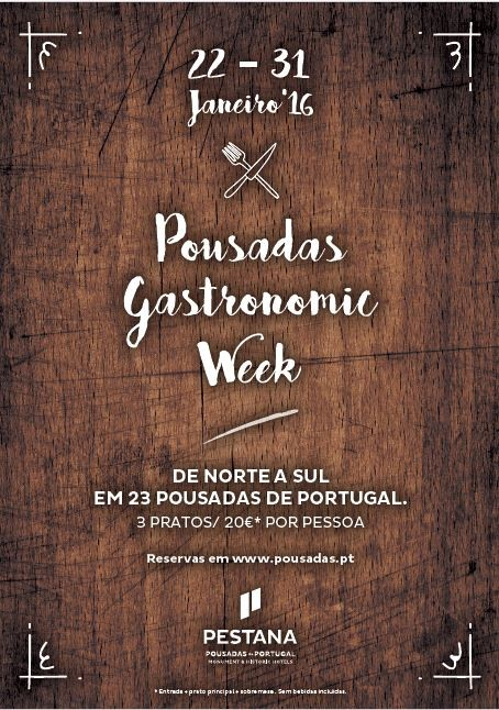 Pousadas Gastronomic Week