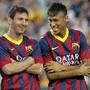 """Os dois """"galos"""" no poleiro de Camp Nou"""