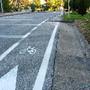 Ciclovia que é pintar berma da estrada