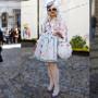 À porta da Semana de Moda de Londres