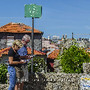 Turistas no Porto