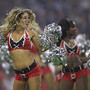 Cheerleaders também encantaram no Super Bowl