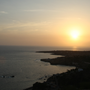 por-do-sol visto do fortinho de São Filipe07.jp