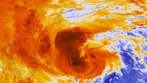O poder do furacão Sandy_imag Satelite.jpg