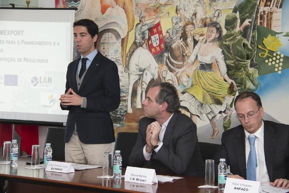 MELGAÇO DEBATEU A INTERNACIONALIZAÇÃO E O FINAN