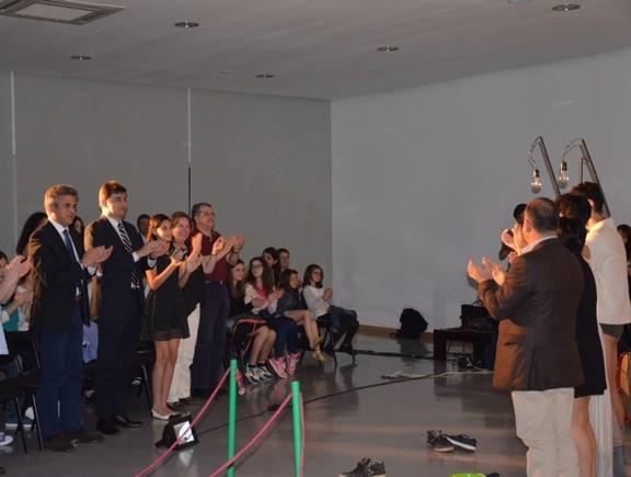 Vice-Cônsul brasileiro assistiu ao espetáculo (L