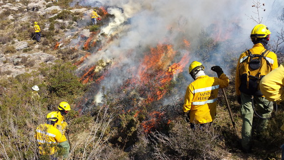 Ação de fogo controlado