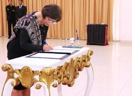 Embaixadora Pascoela Barreto Guterres dos Santos