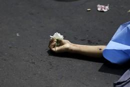 Vítima de tentativa roubo assassinada, Guatemala