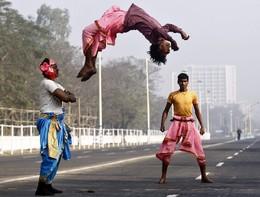 Dia da Independência em Calcutá, Índia