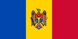 35 Bandeira da Moldávia