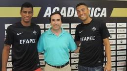 Iago Santos e Ricardo Nascimento reforçam defesa