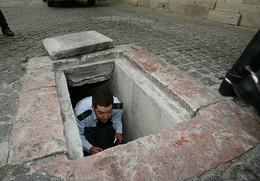 Entrada para cisterna