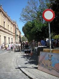 Sevilha - mercado do museu