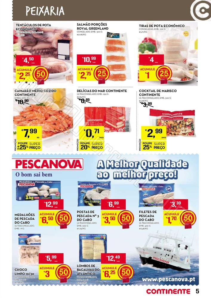Antevisão Folheto CONTINENTE de 11 a 17 novembro