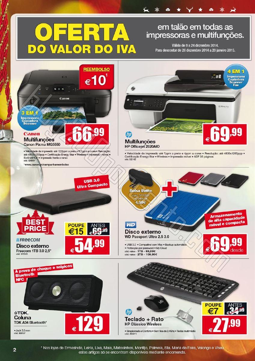 Novo Folheto STAPLES Natal de 9 a 24 dezembro p2.j