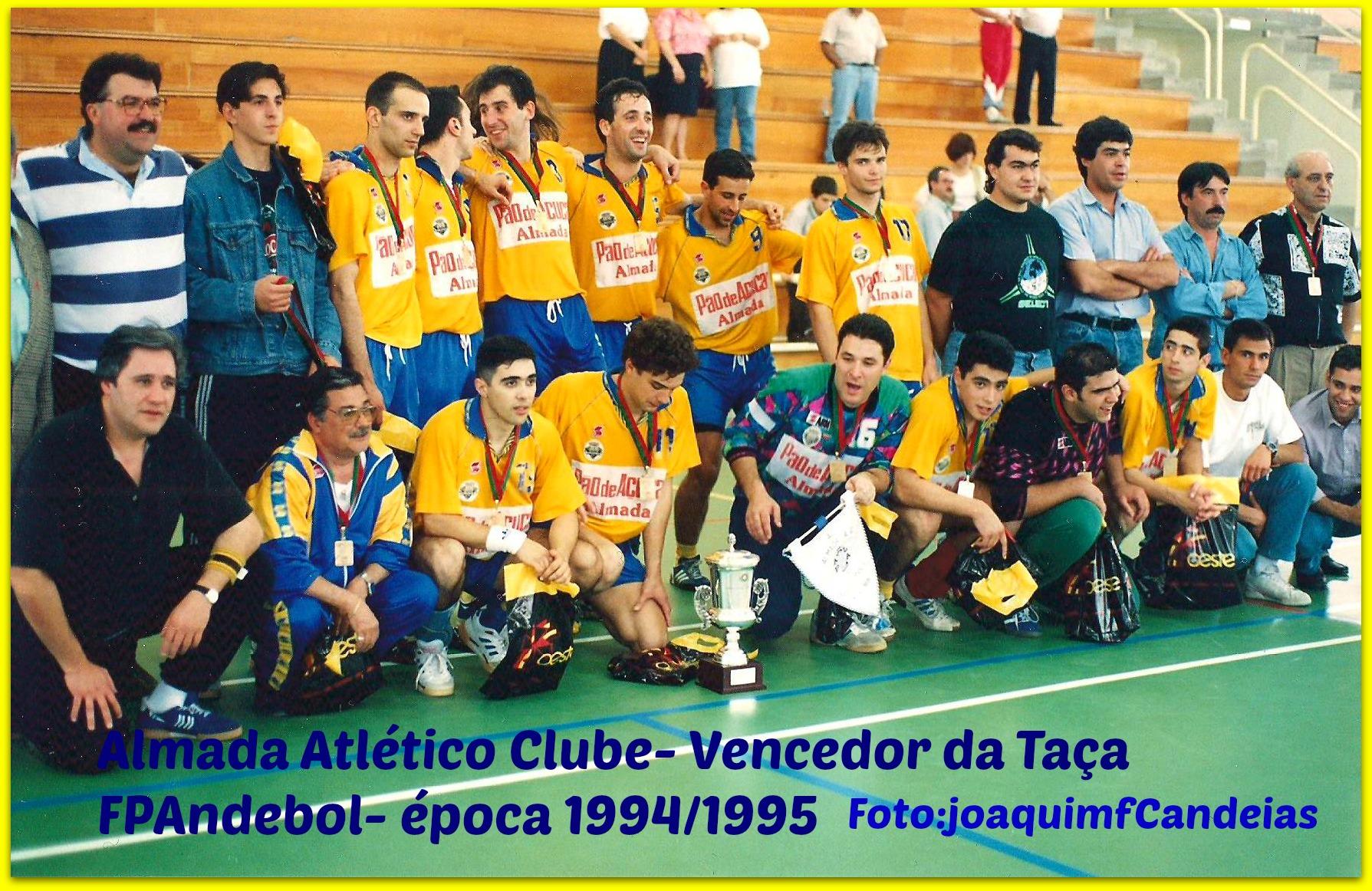 Almada,vencedor da Taça FPandebol-foto joaquimfca