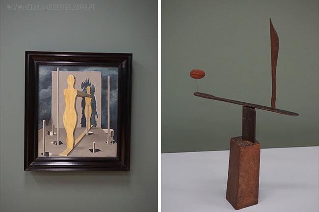 René Magritte und Alexander Calder