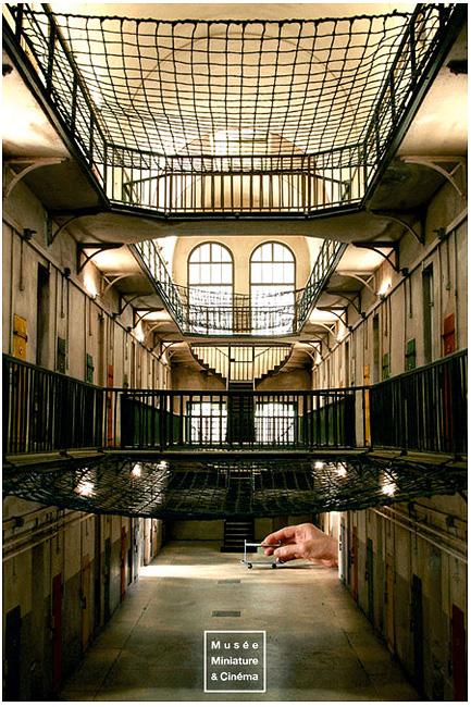 Aile H de la Prison Saint Paul