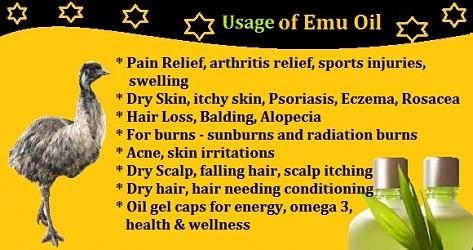 Emu oil (benefits) (14-10-15)
