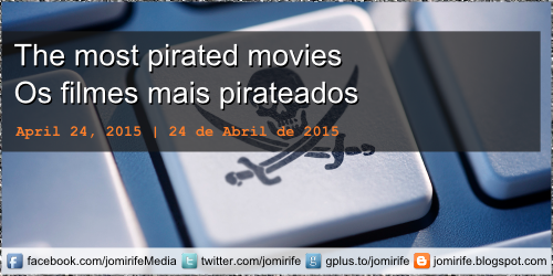Blog Post: The most pirated movies on the internet - Os filmes mais pirateados na internet