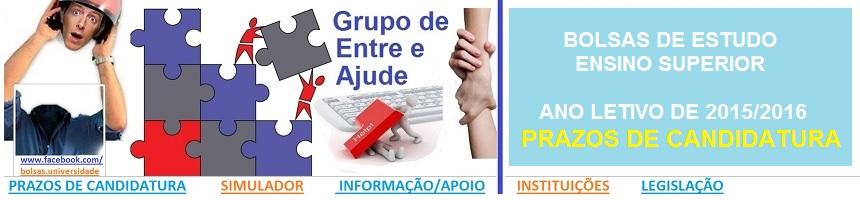 Bolsas de Estudo_Ensino Superior_2015_2016_Prazos