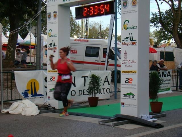 Liliana Moreira passar a meta