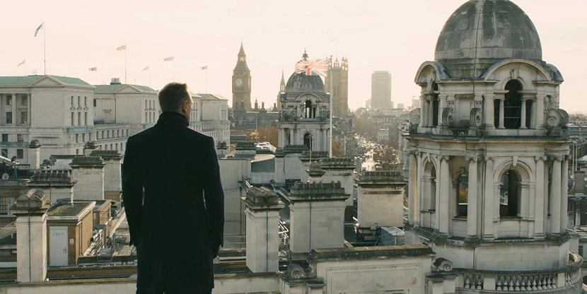 Skyfall, Londres