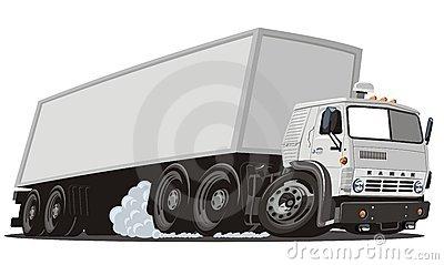 do-vetor-dos-desenhos-animados-da-carga-caminhão-