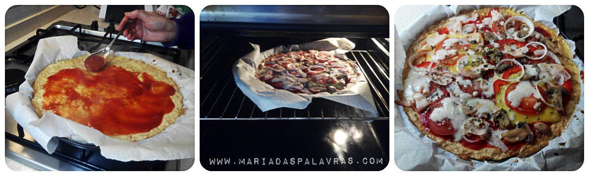 Pizza fingida com base de atum: Receitas em poucas letras | Maria das Palavras