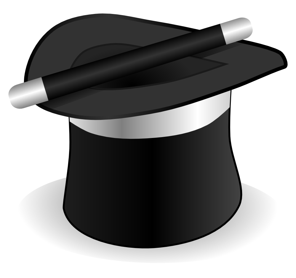 Hat and wand 1