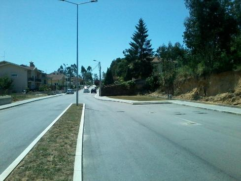 Avenida interrompida Argoncilhe