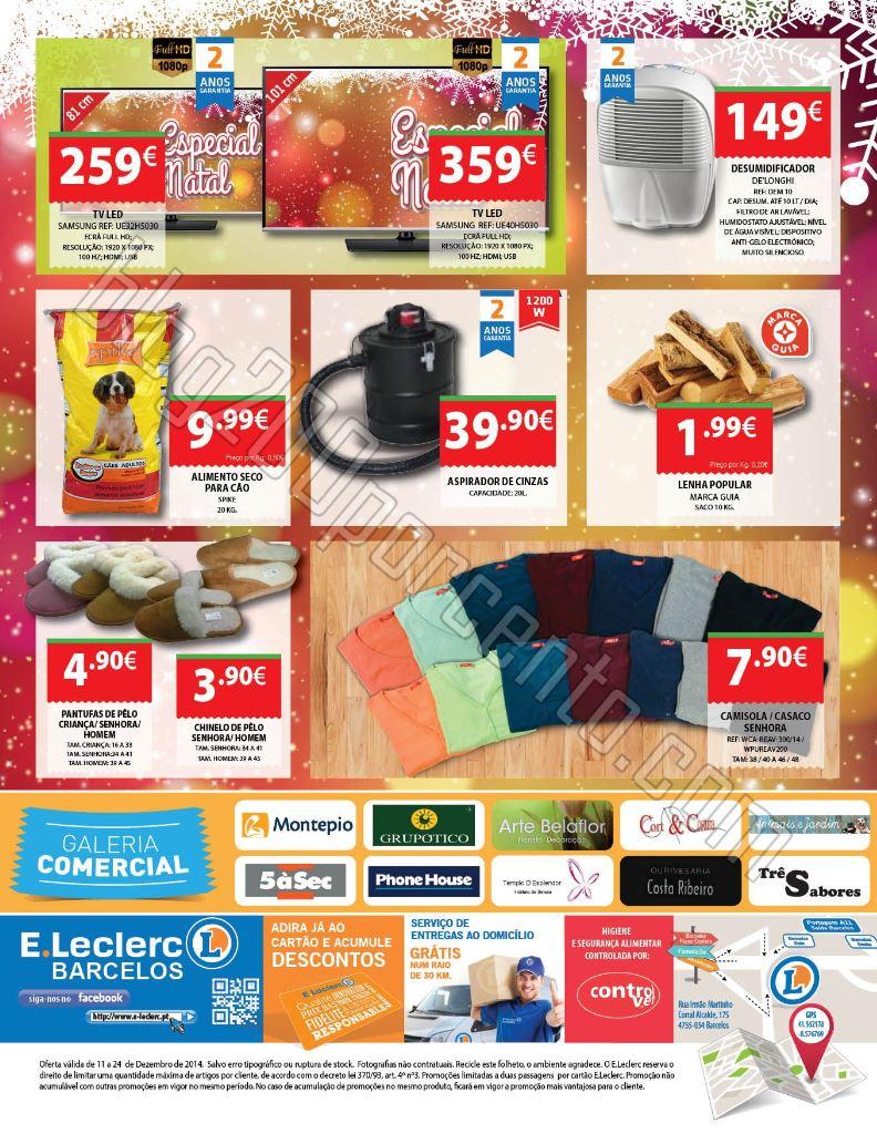 Antevisão Folheto E-LECLERC Barcelos de 11 a 24 d