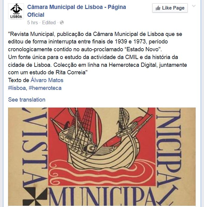 Álvaro Matos apud C.M.L. -- pág. oficial no livro das fuças.