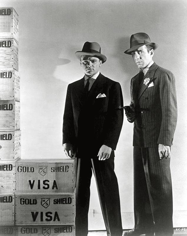 Cagney & Bogart, in «Heróis Esquecidos», 1939