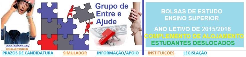 Bolsas de Estudo_Ensino Superior_2015_2016_COMPLEM